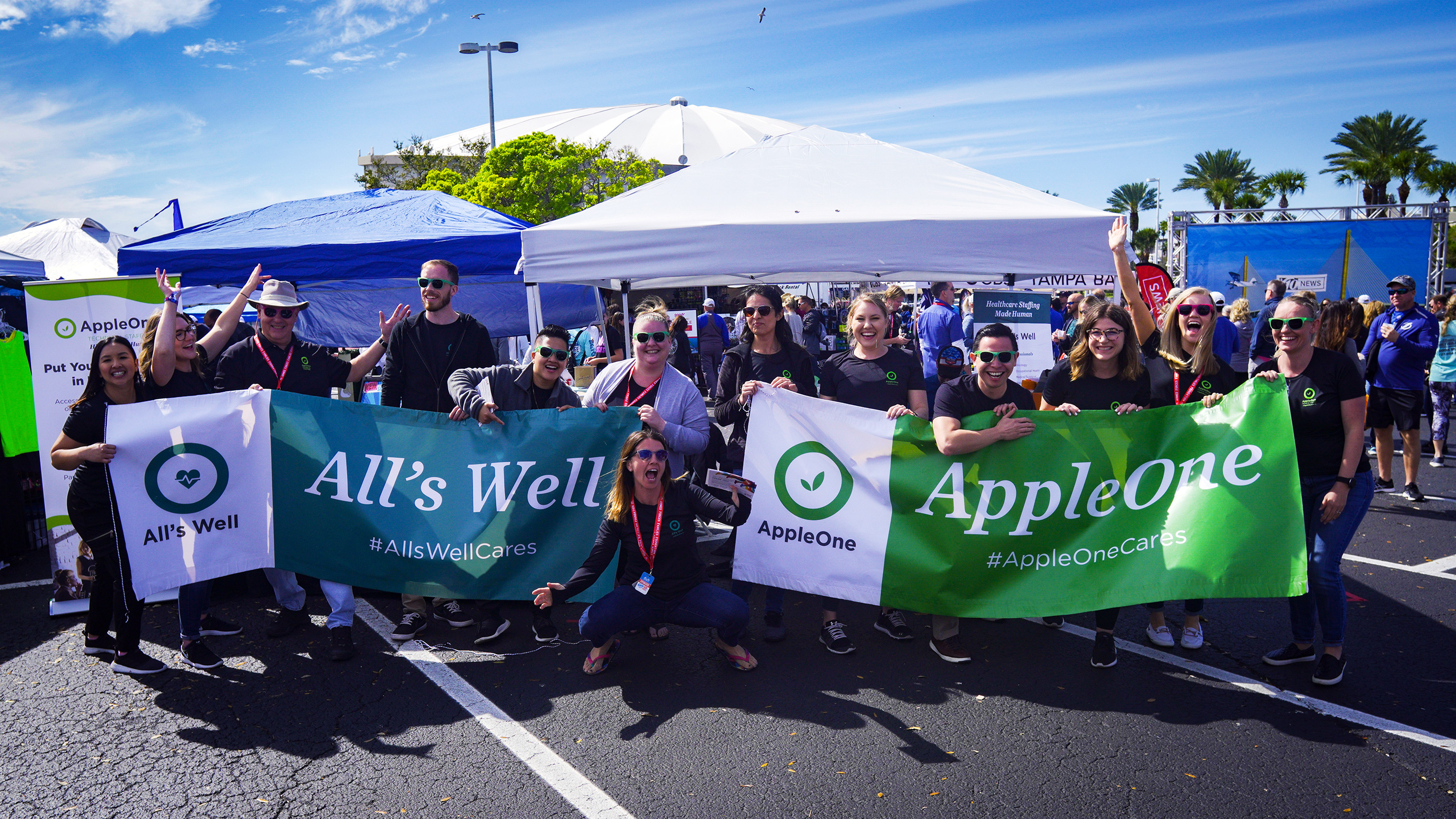 AppleOne CSR Event Photo Full
