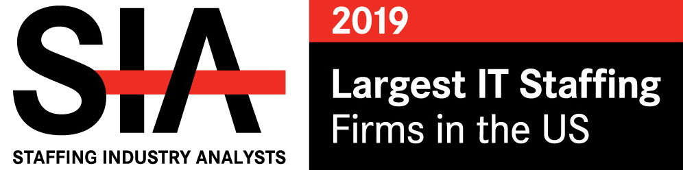 2019 Staffing Industry Analyst Largest IT Staffing Firms US badge